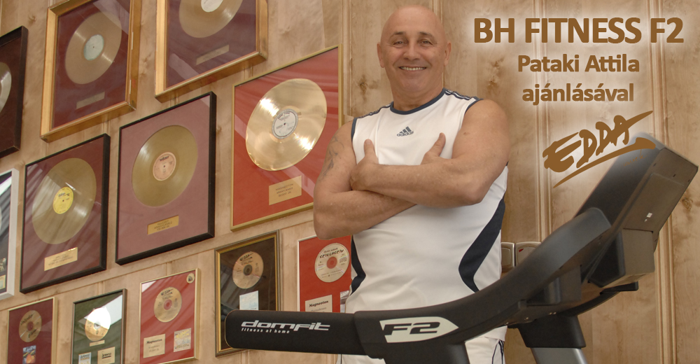 BH Fitness F2 futópad, futópadok